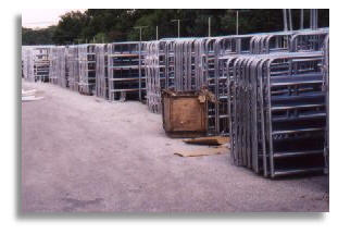 Standard or custom corral panels