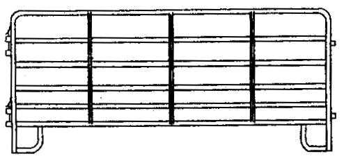 Horse Fence Panel, 5 ft. x 16 ft. - 3610375 | Tractor Supply Company
